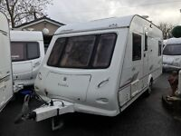 Elddis Odyssey 2006 Fixed Bed 4 Berth