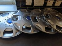 Ford wheel trims 16in