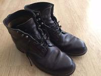 Wolverine 1000 Mile Colour #8 burgundy cherry chromexcel boots UK size 9