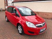 Vauxhall zafira 1.9 cdti 7 seater only 76000 miles FSH 1 year MOT 08reg