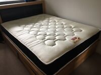 Pocket 1500 Spring Quilted Orthopaedic King Size (5FT) Mattress - Good as New