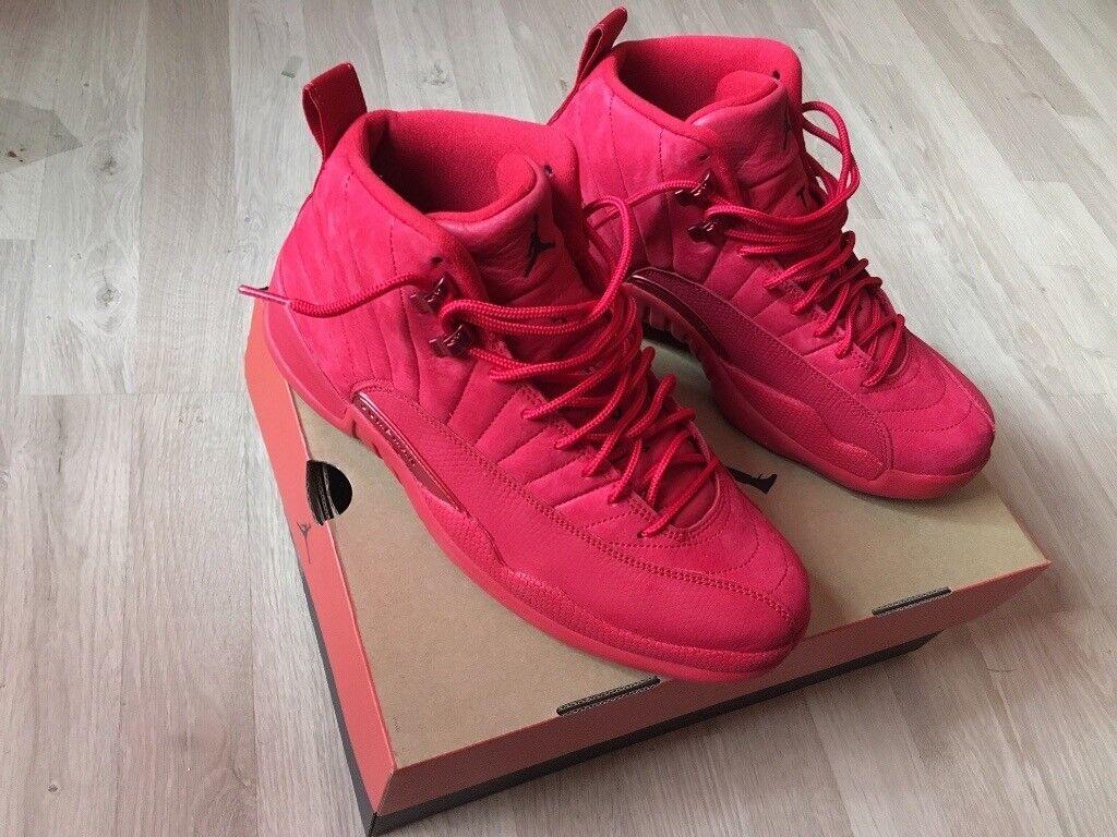 Air Jordan retro 12 gym red men s uk size 8.5. Hackney 1b63d3d47