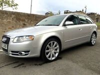 2005 AUDI A4 1.9 TDI AVANT - NICE CAR, JUST HAD MOT AND FULL SERVICE, GREAT MPG