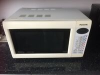 Panasonic slimline combi microwave