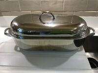 FISH KETTLE or outsize casserole, perfect for Christmas cooking