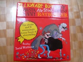 The World of David Walliams 5 x CD Story Collection