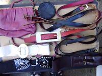 Bags, purses, belts