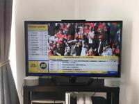 "LG 42"" LED tv with built in free view"
