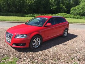 Audi A3 sportback 2.0 TDI High spec, excellent condition
