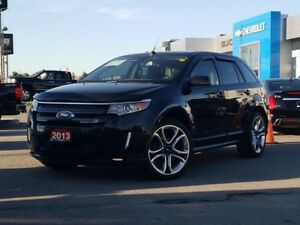 2013 Ford Edge Sport Sport, Nav, Leather, Pano Roof, Pwr Lift...
