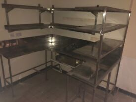 Commercial Kitchen Units & Sink