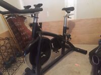 Heavy duty home exercise bike & spin bike (suitable for 90kg+)