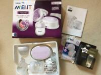 Avent Phillips Breast Pump and Tommie Tippee Storage Bags
