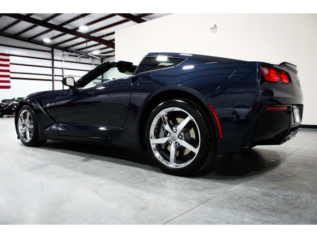 2014 Blue Chevrolet Corvette Stingray 2LT   C7 Corvette Photo 3