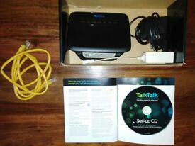 Talktalk broadband wireless router