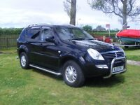 JEEP - Ssangyong Rexton - * Clock was replaced due to fault, 66000 genuine miles *