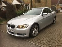 BMW 3 SERIES 325 COUPE AUTO 2007 VERY LOW MILEAGE FULL HISTORY FULL LEATHER ELECTRIC SEATS