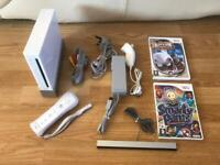 Nintendo Wii console and games. Family fun