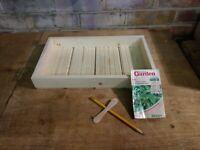 Seed Trays Handmade Wooden Seed Tray