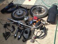 Joblot of motorbike parts