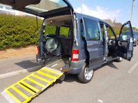 2008 '08' Peugeot Partner Combi Totem ( Wheel chair accessible vehicle ) Disabled