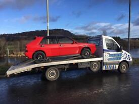 VEHICLE MOVEMENT A RECOVERY INSURED SERVICE WITH A SMILE .