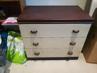 Large 3 Drawer Chest