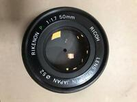RICOH 50mm Lens