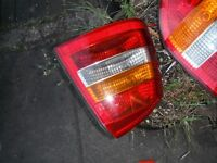 CAR PARTS , VAUXHALL ZAFIRA 2003 , BOTH REAR LIGHTS , N/S AND O/S ALL COMPLETE WITH BULB HOLDERS