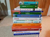Collection of cooking/baking books
