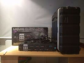 Focusrite Liquid Saffire 56 Audio Interface and Carry Case