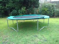 Well used trampoline - free