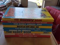 Selection of Dandy & Beano Annuals