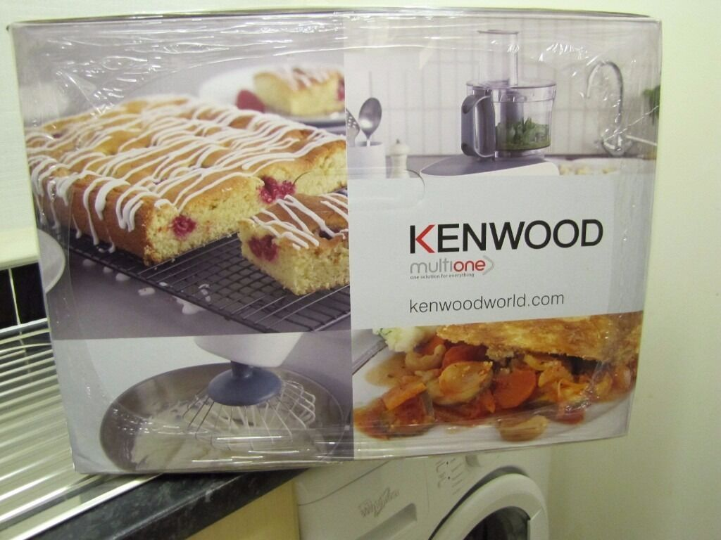 Kenwood MultiOne Home Complete Kitchen Machine Stand Mixer +Accessories KHH326WH