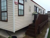 Caravan to rent in Sandy Bay Caravan Park, Towyn