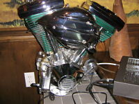 Moteur Harley Pro Street SNS 89pc 2005,full chrome