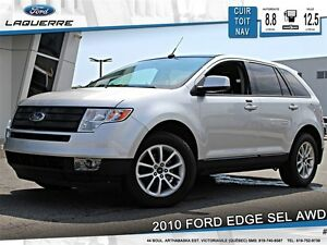 2010 Ford Edge **SEL*AWD*CUIR*TOIT*CRUISE*A/C**