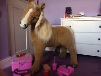 Fur Real Butterscotch Pony