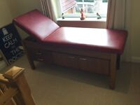 Massage couch, doctors couch