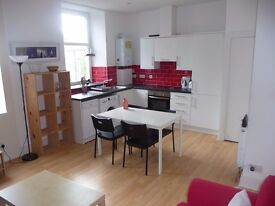 bright large 2 double bed 2nd floor flat in rosemount place