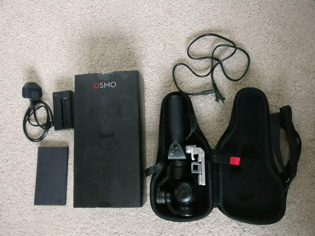 DJI Osmo digital camera handheld gimbal includes SD