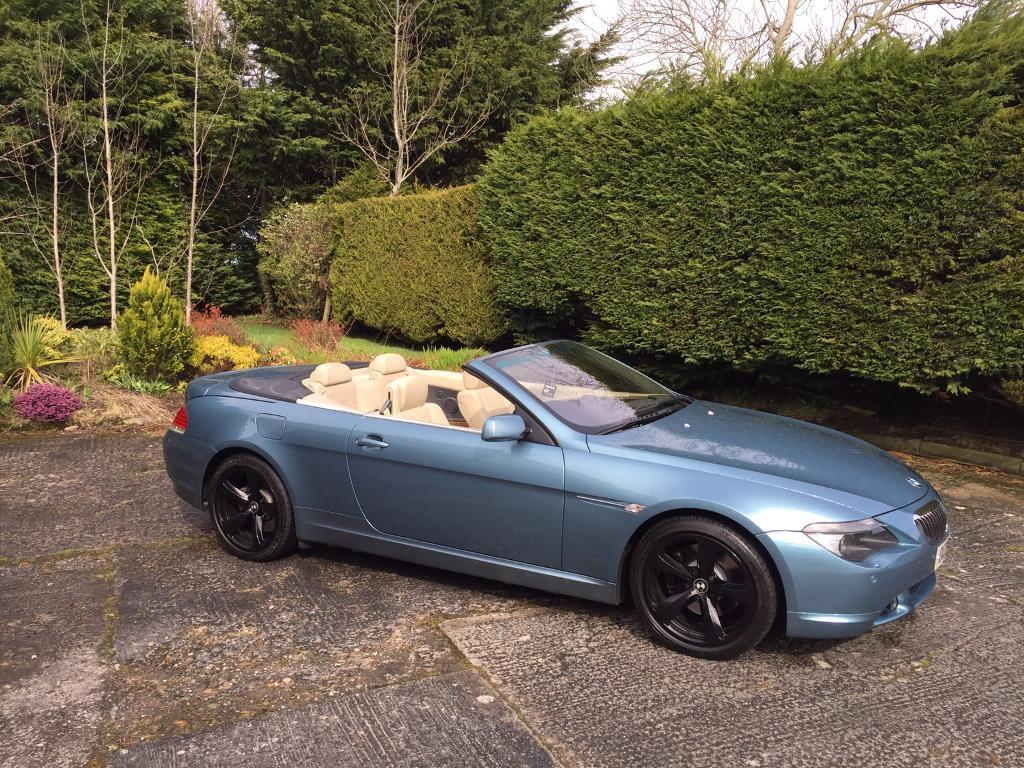 2005 bmw 645ci v8 convertible in stunning condition in. Black Bedroom Furniture Sets. Home Design Ideas