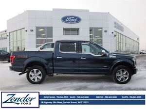 2016 Ford F-150 Platinum [Moonroof, Trailer Tow]