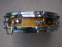 "Tama AW623 Artwood Bird's Eye maple piccolo snare drum - 14 x 3 1/2"" - Japan - 80's"