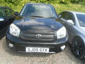 TOYOTA RAV 4 2.0 XT5 5dr FULL YEARS MOT, NICE IN BLACK, SEVERAL 4X4 AVAILABLE (black) 2005
