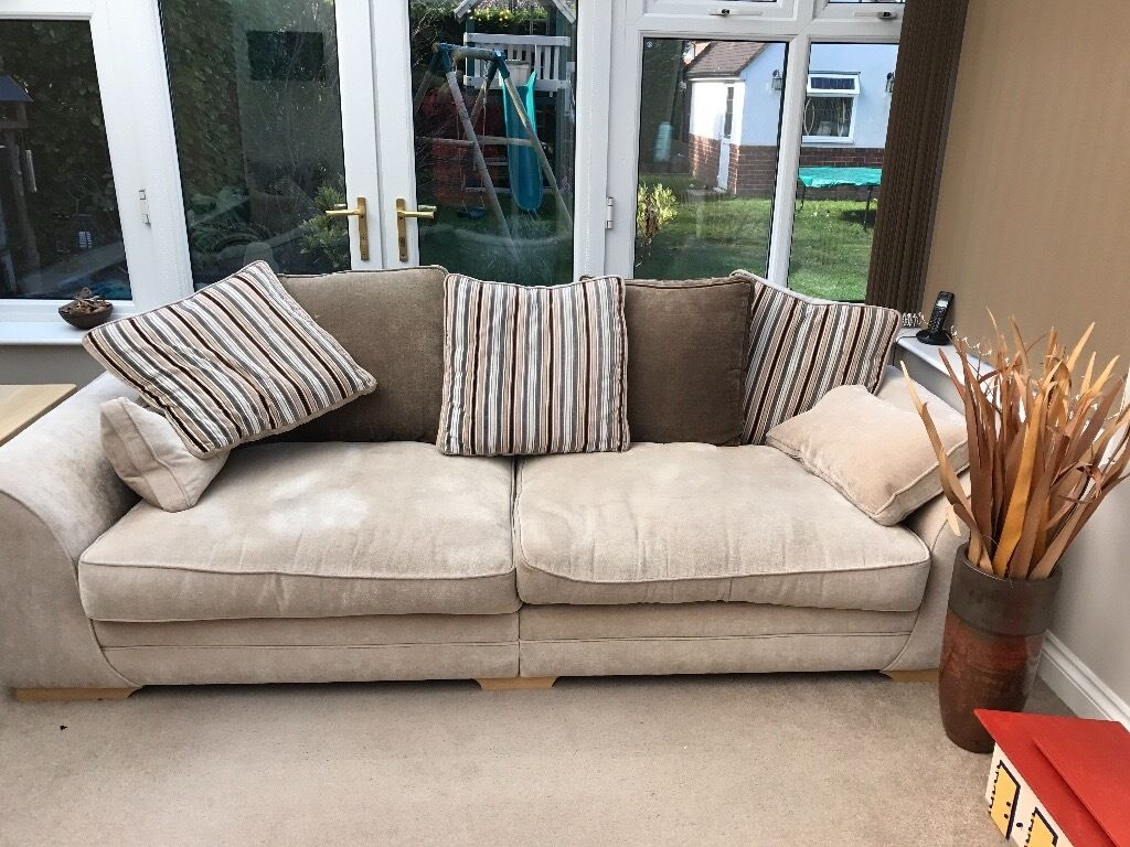 Scs 4 Seater Sofa And Twister Chair Cur Model Mason Still Available In