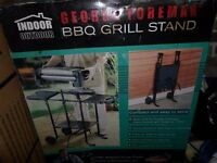 George Foreman Electric BBQ Grill & Stand