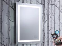 Roper Rhodes Encore LED Illuminated Mirror with Bluetooth code: MLE430 brand new