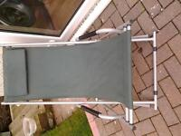 Woolworth deck chair