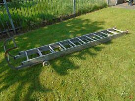 roof folding ladder